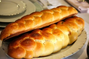 Challah bread for the Sabbath meal
