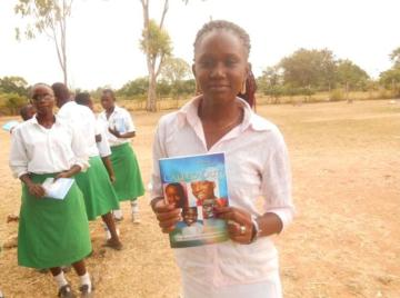 efoge girl with CBE book