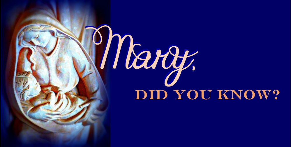mary did you know pdf